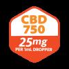 Strainz CBD750 Citrus Dosing