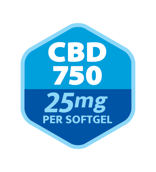 Strainz Softgelz CBD750 Dosing