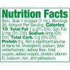 Strainz CBD750 Mint Nutrition Panel