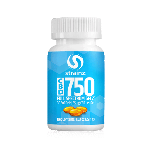 750mg Full Spectrum Softgels