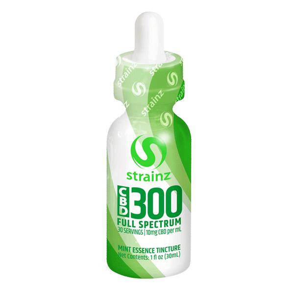 300mg CBD Mint Tincture