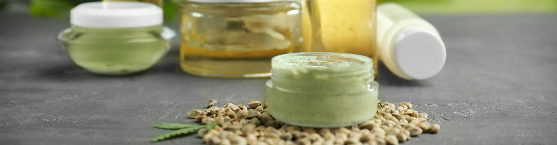 Hemp oil in Skincare