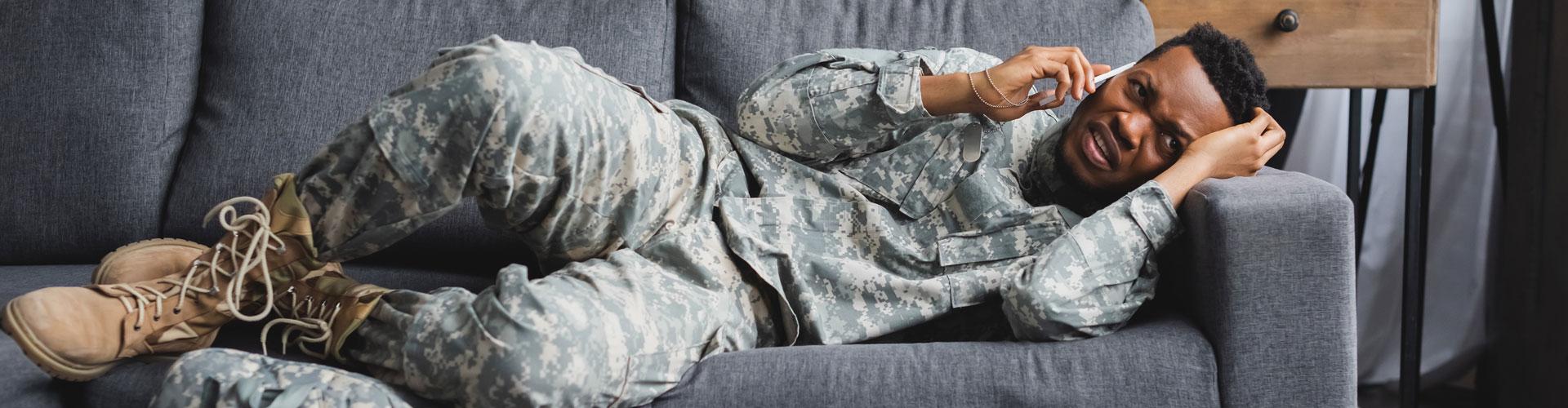 Veterans using CBD